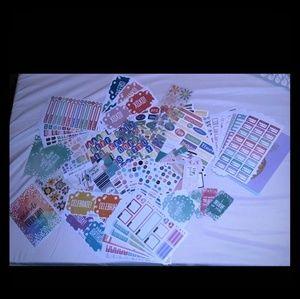 HUGE Planner/ Sticker/Scrapbook Bundle